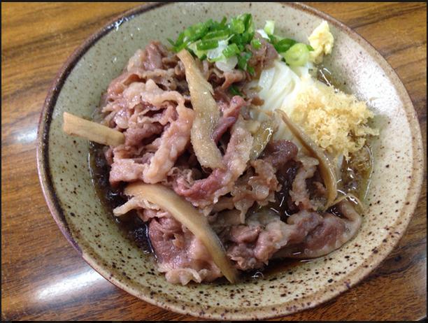 食べログ:肉ごぼうぶっかけ (by Burrn!)さん